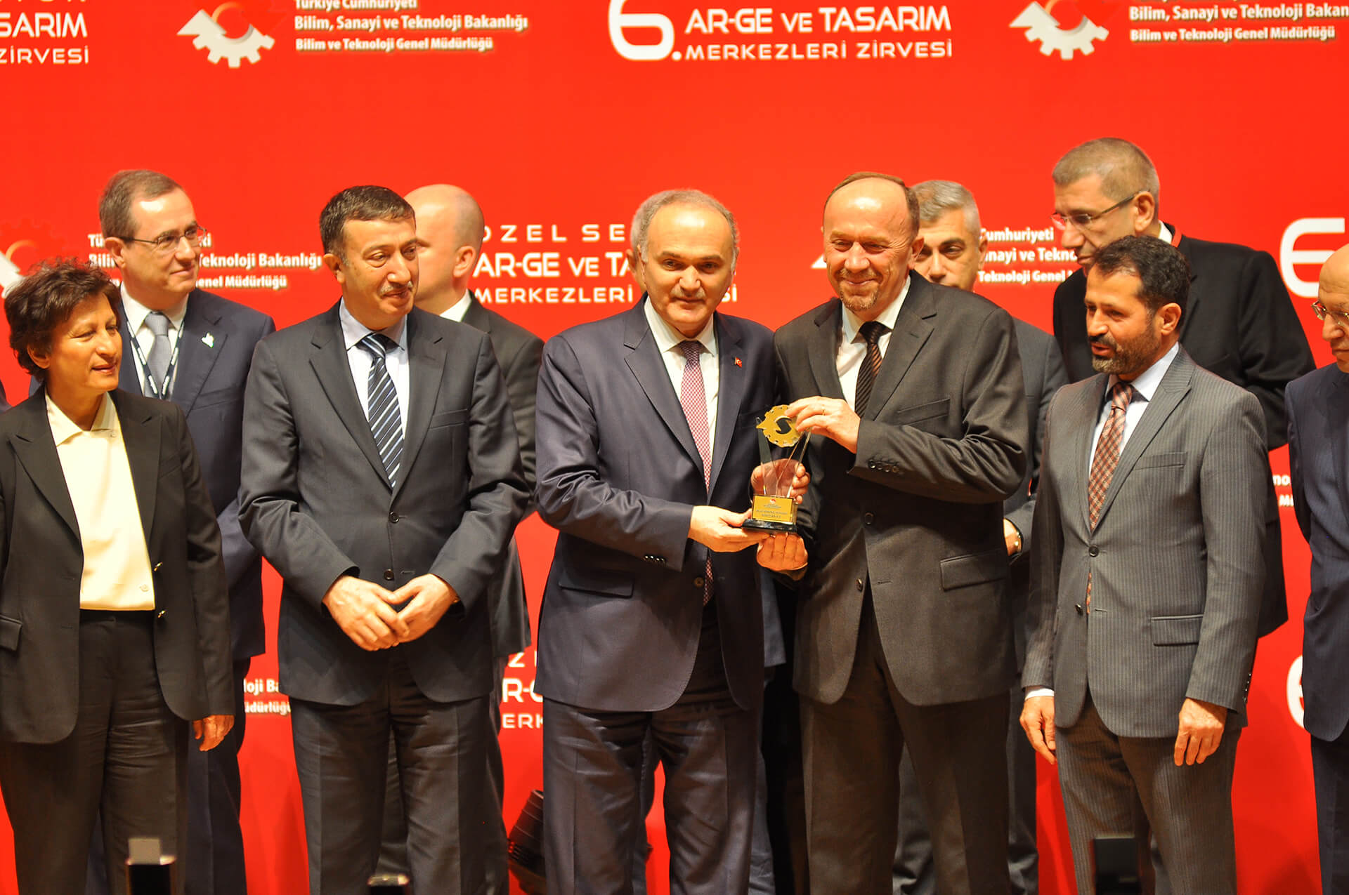 Kordsa ranks first in the textile category at the 6th Private Sector RD and Design Centers Summit