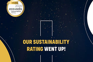 """Kordsa has been awardedthe """"Gold"""" rating for sustainability"""