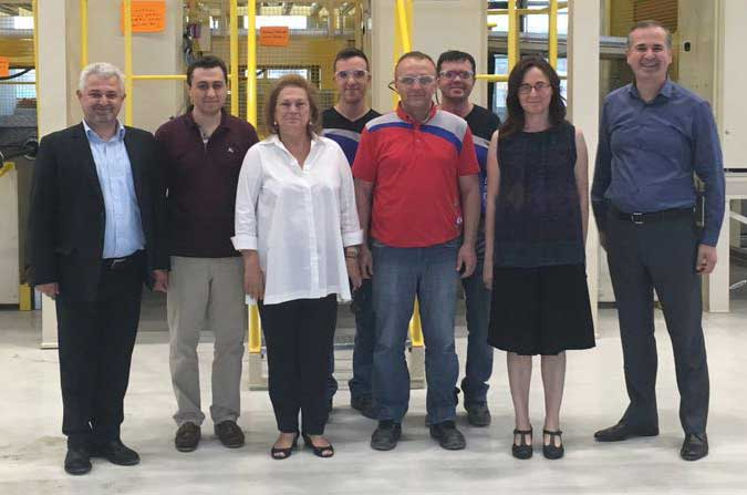Güler Sabancı, the Chairperson of the Board of Directors of Sabancı Holding Visited Composite Technologies Center of Excellence