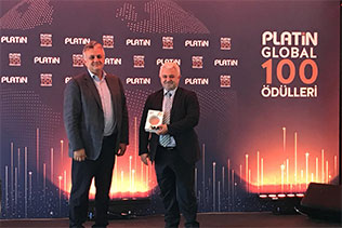 Industry 4.0 Award to Kordsa at Platin Global 100 Awards