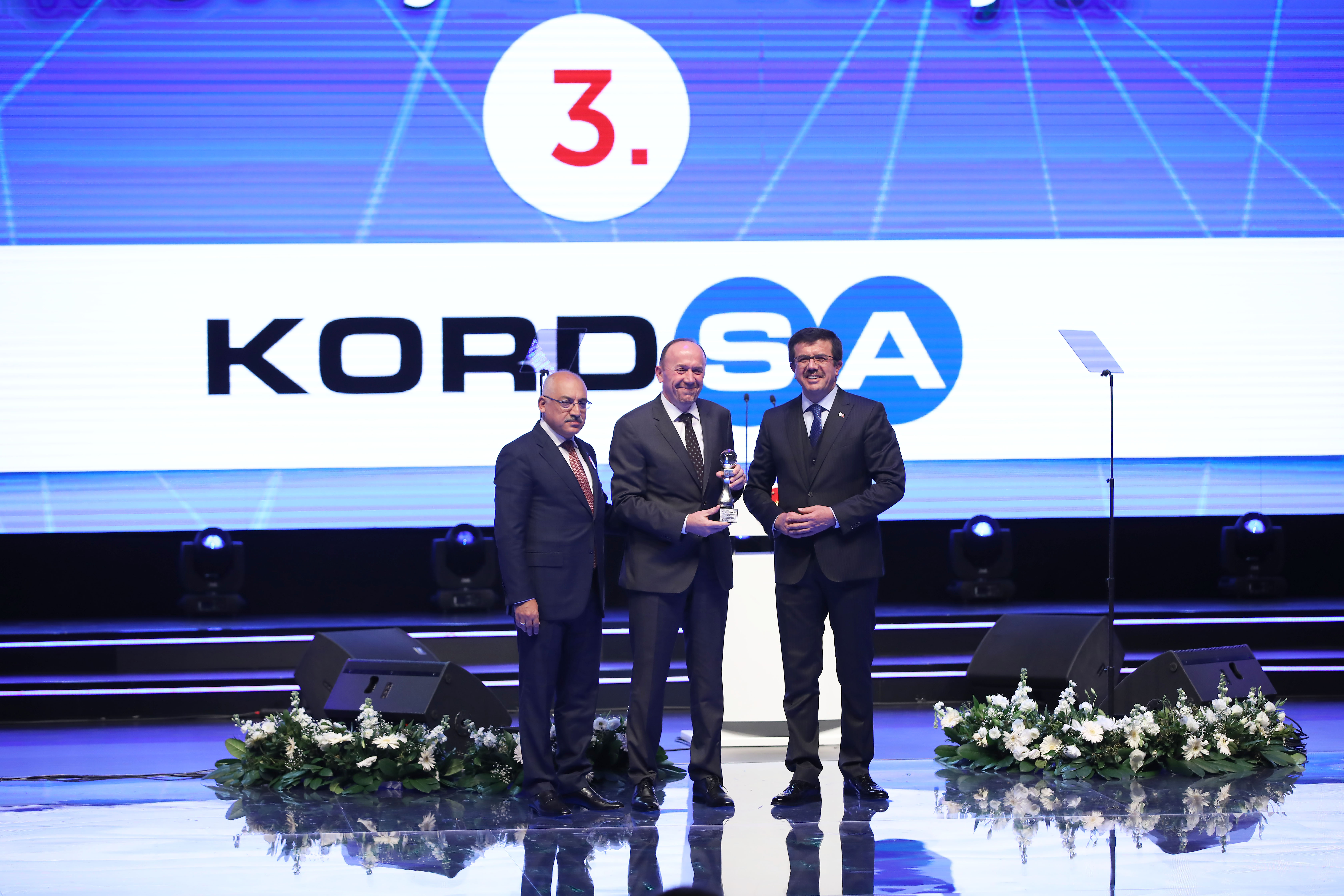 Kordsa wins the third prize in the Innovation Strategy category at Turkey Innovation and Entrepreneurship Week