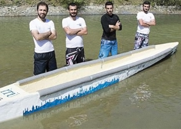 Istanbul Technical University - Fantastic Four Canoe Team