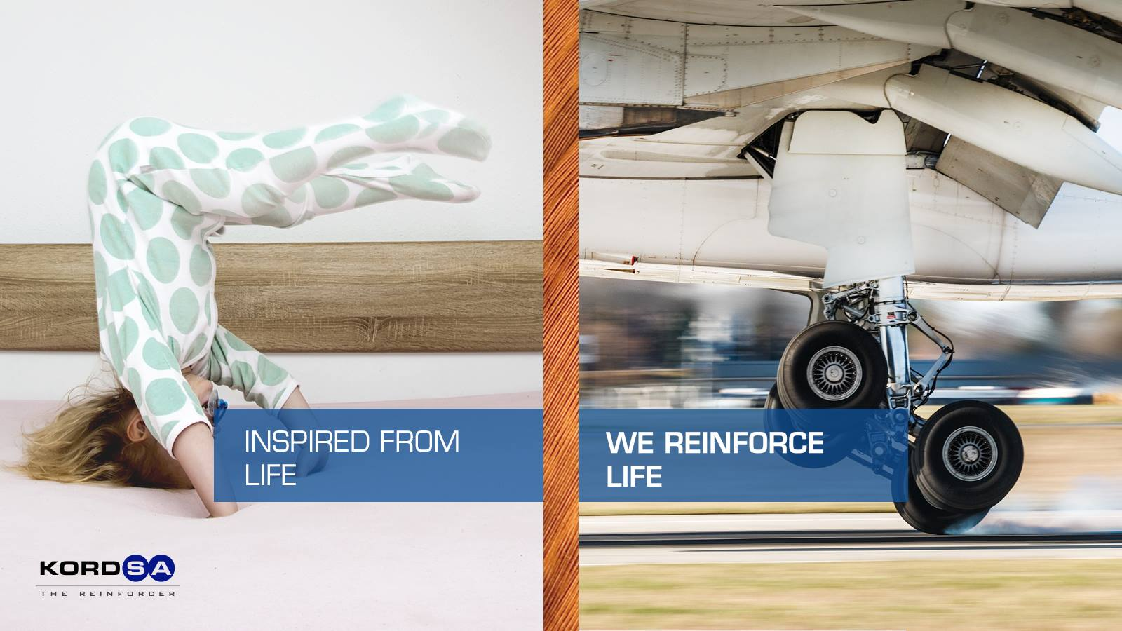 """Inspired from life, we reinforce life"" says Kordsa's new campaign"