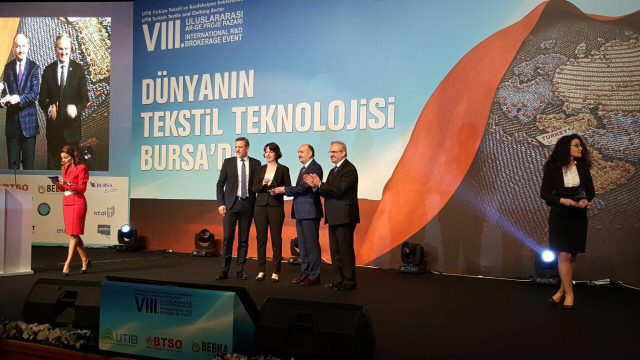 Kordsa received an Award from the Turkish Textiles Innovations League