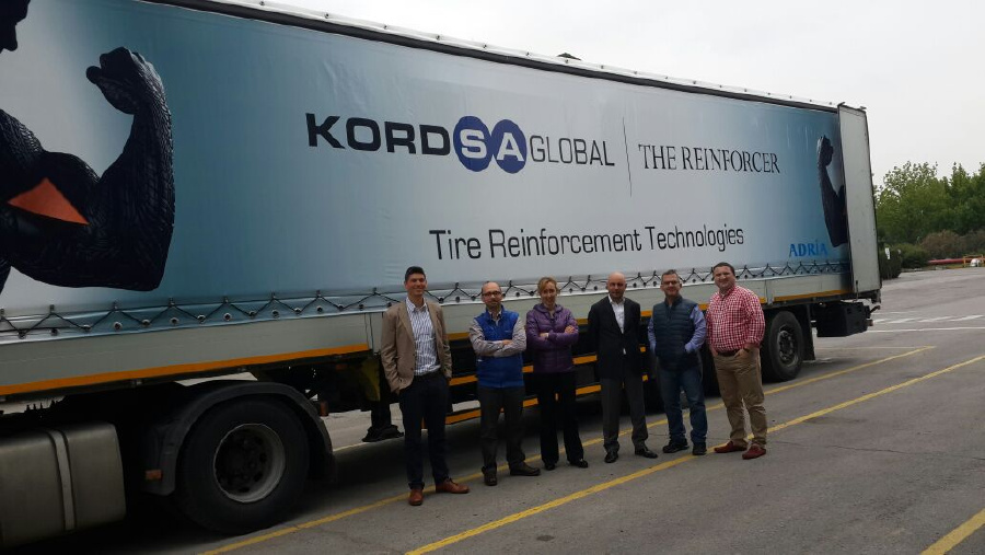 Kordsa Reinforcement Truck On the Roads