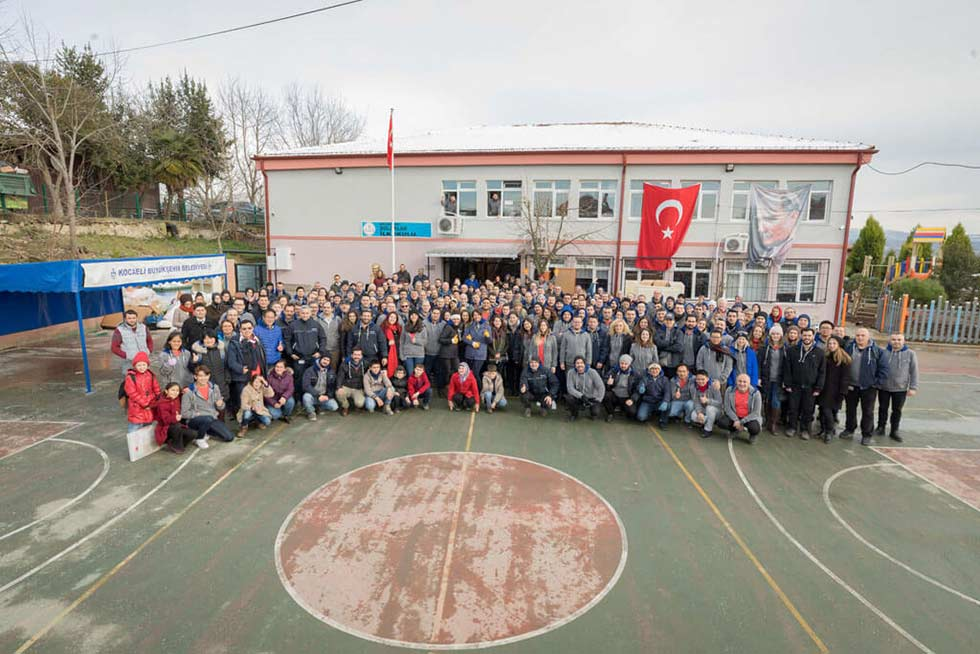 Kordsa renovates another school in an effort to reinforce the future