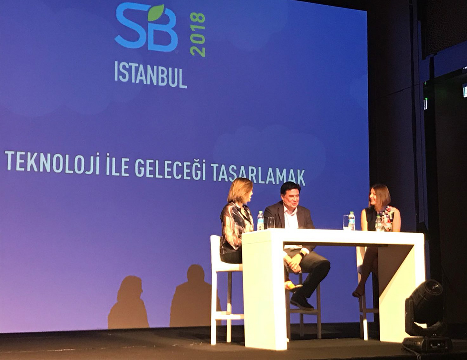 Kordsa redefines the good life with Arzu Kaprol at Sustainable Brands 2018 İstanbul.