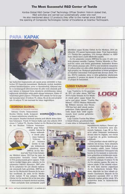 The Most Successful R&D Center of Textile
