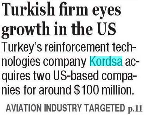 Kordsa acquires two US companies
