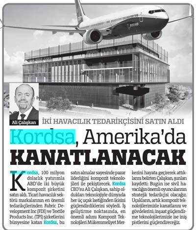 Kordsa will reinforce the US