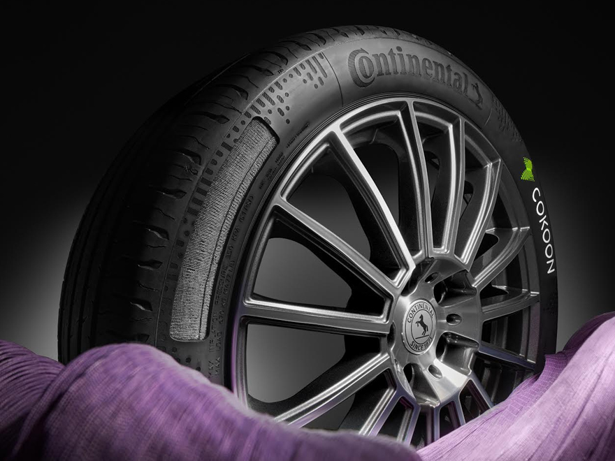 Continental and Kordsa bring first series tires with Cokoon dip technology onto the road