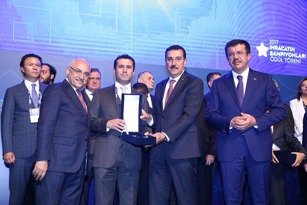 Export Champions Award to Kordsa