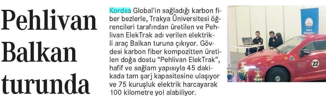 Pehlivan Elektrak on Balcan Tour