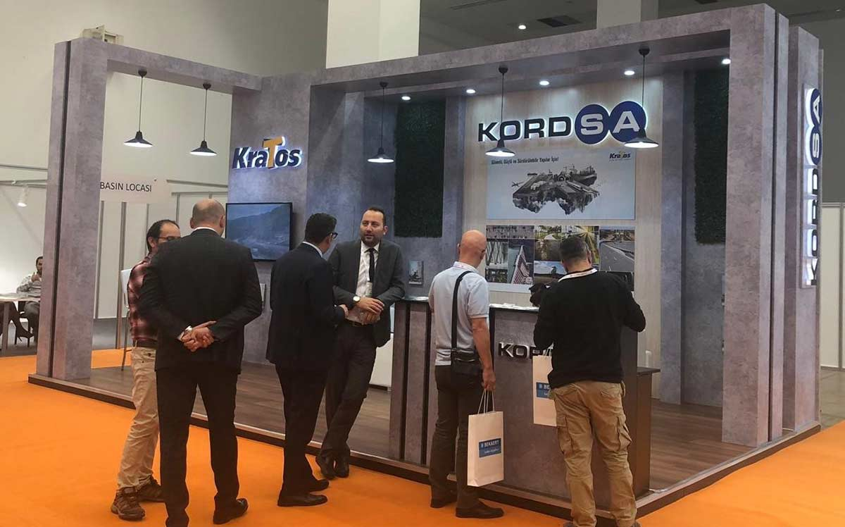 Kordsa attends Road2Tunnel with its innovative concrete reinforcement synthetic fibers KraTos Macro PP and KraTos Micro