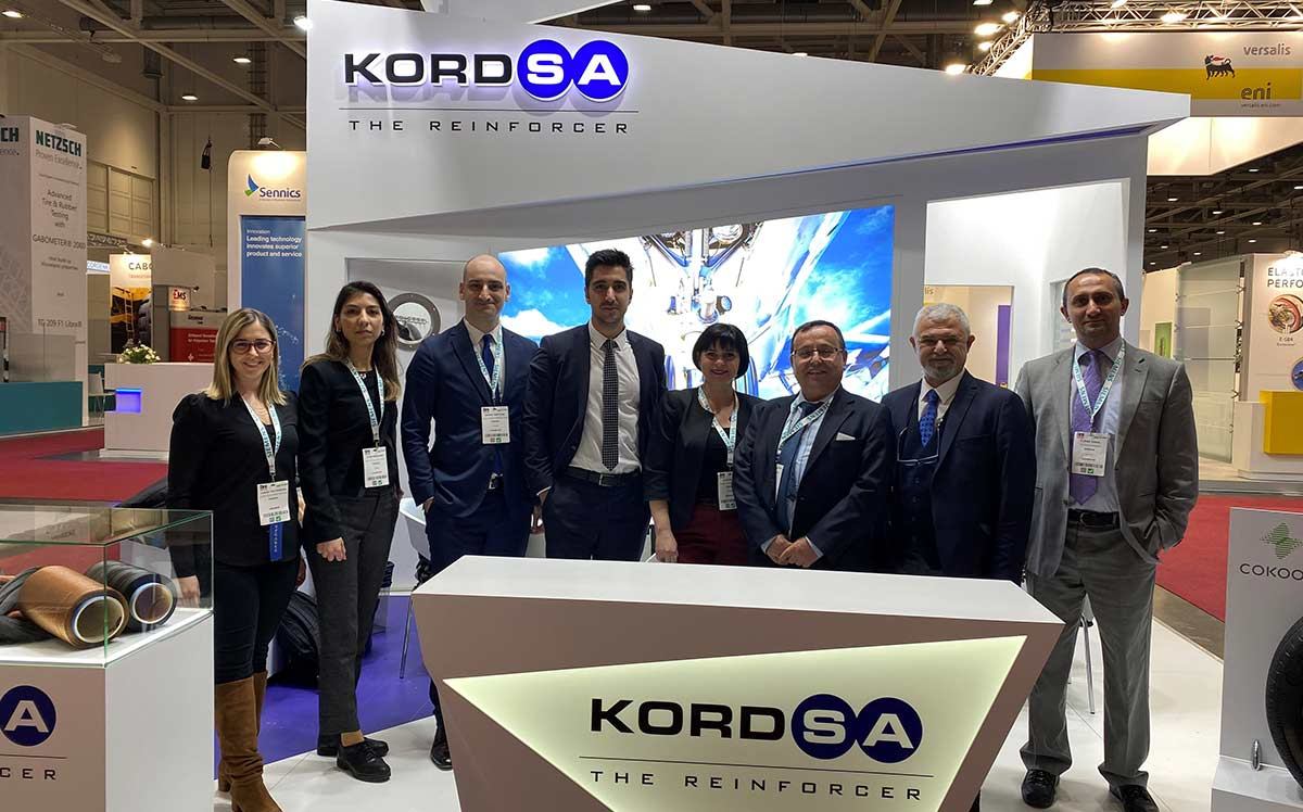 Kordsa participated in Tire Tech Expo 2020 with its sustainable tire reinforcement technologies