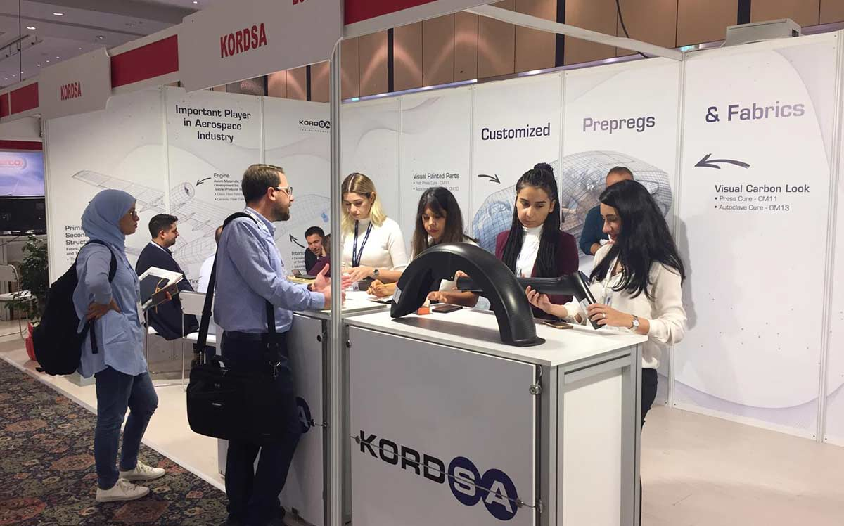 Kordsa showcased its innovative composite technologies at Turk Kompozit 2019