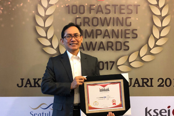 Kordsa once again among 100 fastest growing companies in Indonesia