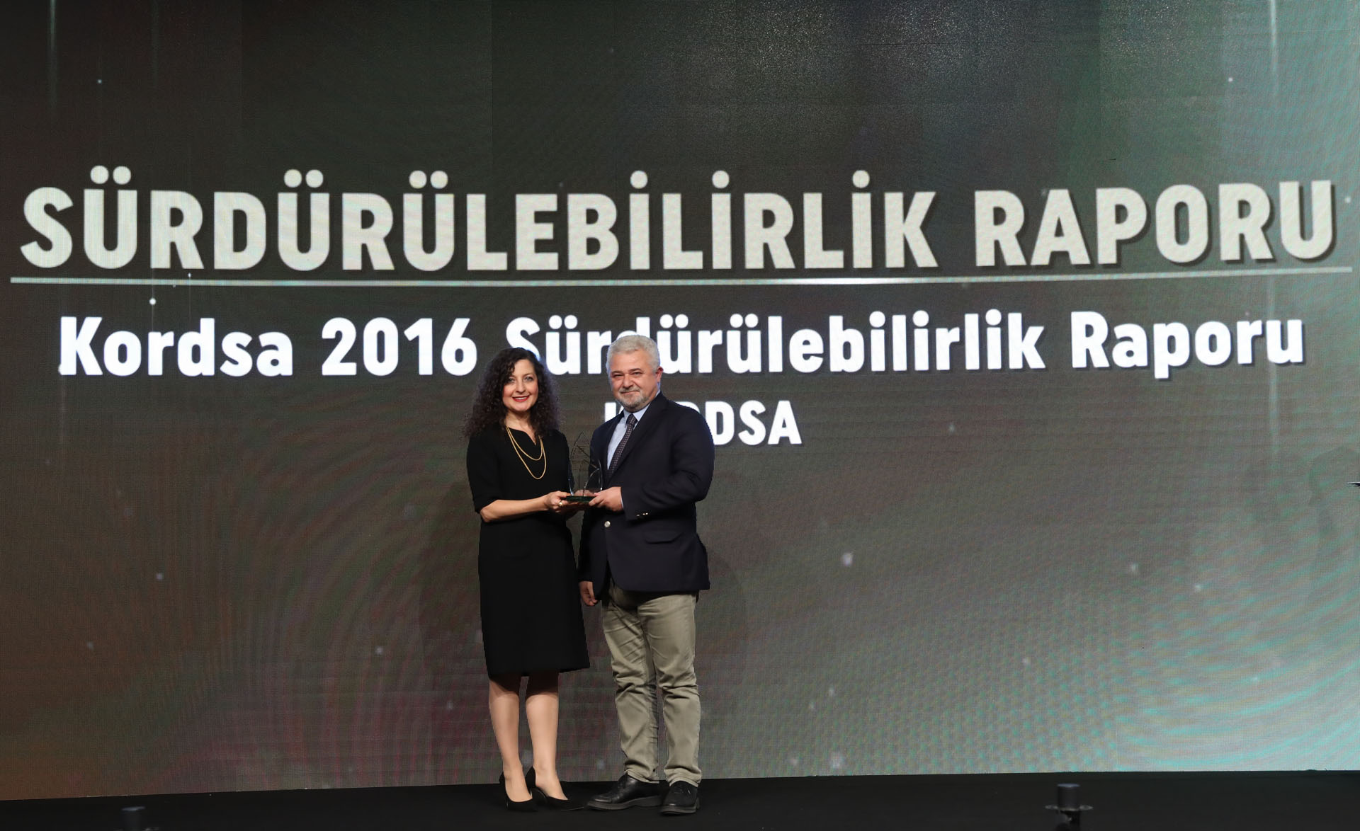Sustainable Business Award to Kordsa Sustainability Report