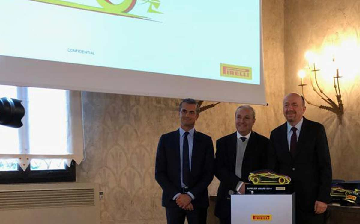 """Best Supplier Award"" for Kordsa by Pirelli"