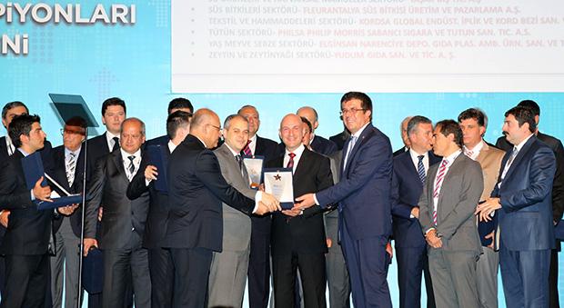 TİM'den Kordsa'ya ihracat ödülü