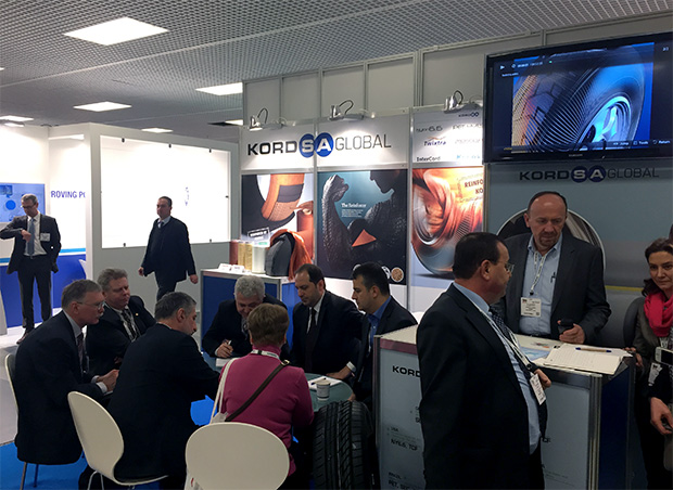 Kordsa, Tire Technology Expo 2015'te üretimde verimlilik sağlayan ürünü Capmax ® ile yerini aldı