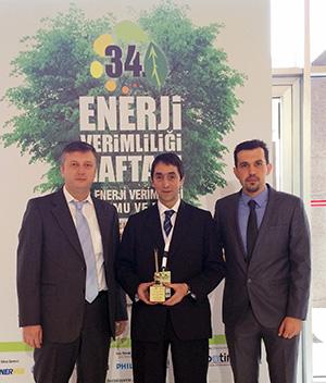 Kordsa'ya Sanayide Enerji Verimliliği Ödülü
