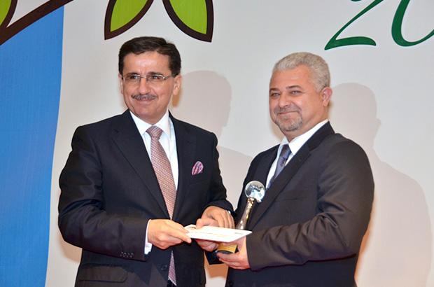 Sanayi kenti Kocaeli'den Kordsa'ya çevre ödülü