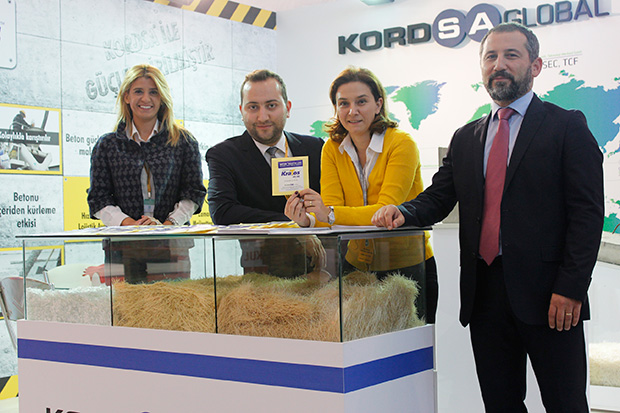 Kordsa'in yeni ürünü KraTos TM Ankara Yapı Fuarı'nda