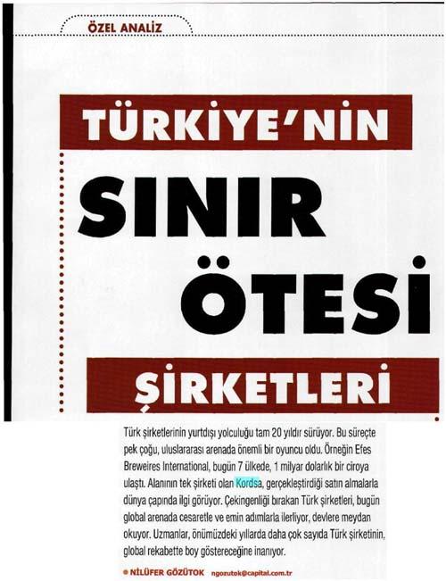 Türkiye'nin sınır ötesi şirketleri
