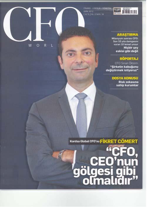 Fikret Cömert: CFO, CEO'nun Gölgesi Olmalıdır