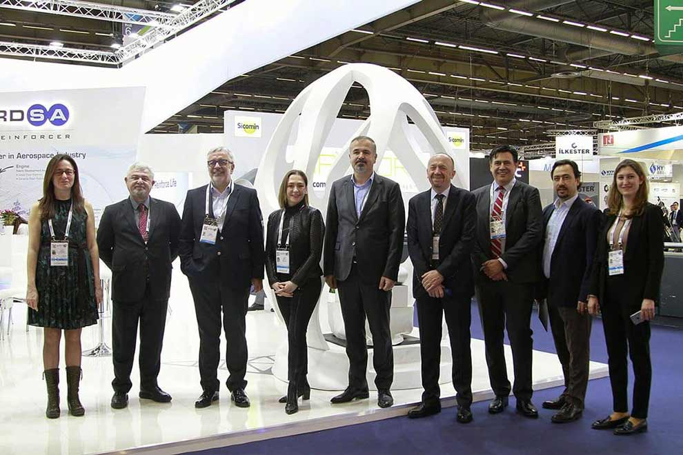 Kordsa marked its name at the world's biggest composite technology show, JEC World 2019