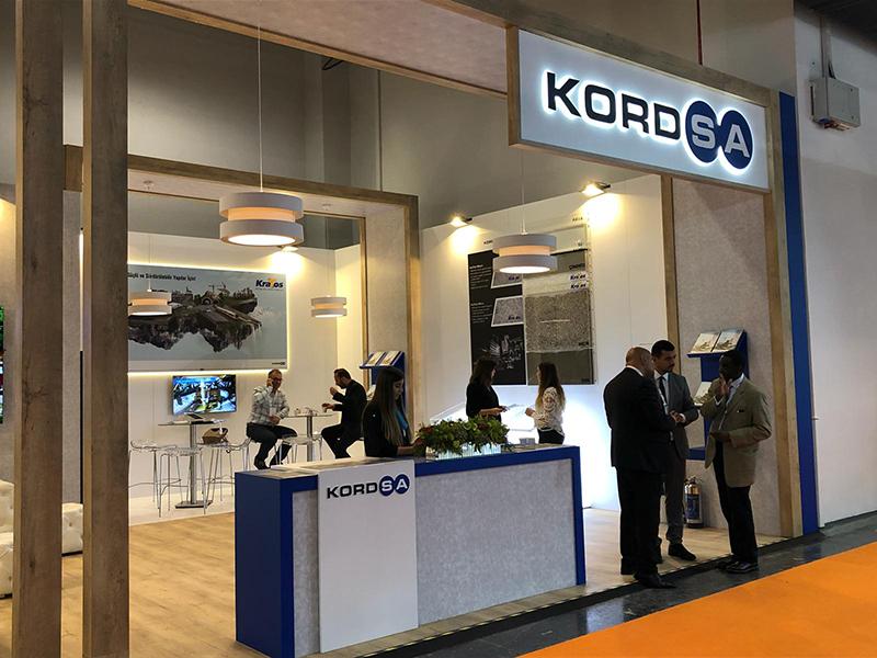 Kordsa, Road2Tunnel Fuarı'nda yenilikçi sentetik fiber donatıları KraTos ile yer aldı.