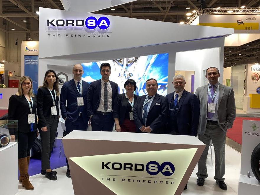 Kordsa, sürdürülebilir lastik güçlendirme teknolojileriyle Tire Tech Expo 2020 fuarına katıldı